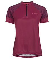 Vaude Women's Ligure Shirt - Radtrikot MTB - Damen, Dark Red