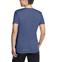 Vaude Women's Moab Shirt II Damen-Radtrikot, Blue