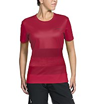 Vaude Women's Moab Shirt II Damen-Radtrikot, Red