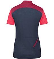 Vaude Tremalzo IV - maglia bici - donna, Blue/Pink
