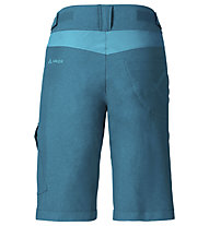 Vaude Tremalzo II - pantaloni bici MTB - donna, Green