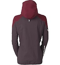 Vaude Womens Larice Jacket Damen Hardshelljacke, Red