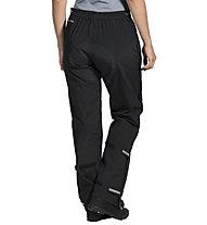 Vaude Yaras Rain Zip Pants III - Regenhose Bike - Damen, Black