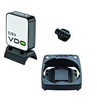 Vdo Geschwindigkeitsensor D3 für VDO M3/M4, White/Black
