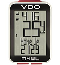 Vdo M4.1 WireLess - ciclocomputer bici wireless, Black