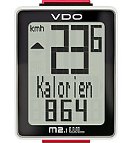 Vdo M 2.1 WL Wireless-Fahrradcomputer, Black