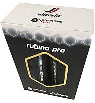 Vittoria Rubino Pro 700 x 25 Set (Paar), Black