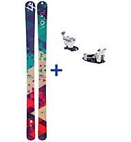Völkl Nanuq Set: Ski+Bindung