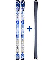 Völkl Qanik ST 2er Set: Ski + Felle