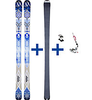 Völkl Qanik Set: Ski + Felle + Bindung