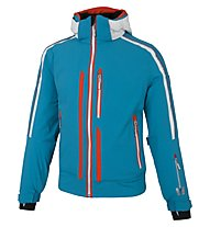 Vuarnet B-Verdun Blouson - giacca da sci - uomo, Light Blue/White