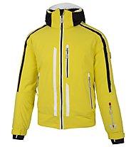 Vuarnet B-Verdun Blouson - giacca da sci - uomo, Yellow/Black