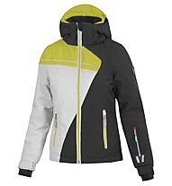 Vuarnet Dole - Skijacke - Frau, Black/White/Yellow