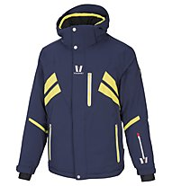 Vuarnet Giacca da sci M-Blamont Jacket Man, Sail Navy/Lemon/White Sail
