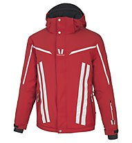 Vuarnet Giacca sci M-Darney Jacket Man, Red/White Sail/Black