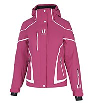 Vuarnet M-L Berna Lady Damen-Skijacke, Bright Rose/White Sail