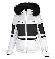 Vuarnet Giacca da sci M-L Bollene Jacket Lady, White Sail/Black/Black
