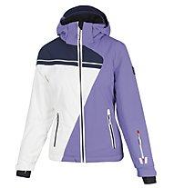 Vuarnet Giacca sci M-L Dole Jacket Lady, Dahlia/White Sail/Sail Navy