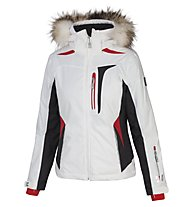 Vuarnet Giacca sci M-L Even Jacket Lady, White Sail/Black/Red