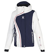 Vuarnet Giacca sci M-L Sofia Jacket Lady, Sail Navy/White Sail/Red