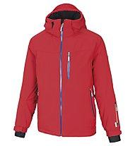 Vuarnet Giacca sci M-Levi Jacket Man, Red/Ski Royal