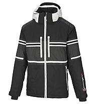 Vuarnet Giacca sci M Lofer Jacket man, Black/White Sail