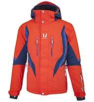 Vuarnet M-Mons Jacket - giacca da sci - uomo, Orange/Blue