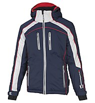 Vuarnet Giacca sci M-Privas Jacket Man, Sail Navy/White Sail/Red
