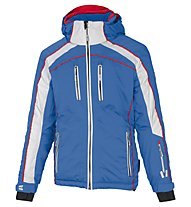 Vuarnet M-Privas Jacket - giacca da sci - uomo, Light Blue/Red