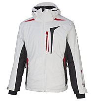 Vuarnet Giacca sci M-Ravel Jacket Man, White Sail/Black/Red
