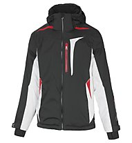 Vuarnet Giacca sci M-Ravel Jacket Man, Black/White Sail/Red