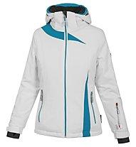 Vuarnet M L Bellac - giacca da sci - donna, White/Light Blue