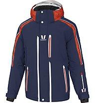 Vuarnet M Lunel - Skijacke - Herren, Dark Blue/Orange