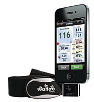 Wahoo Running Set: iPhone Dongle + Soft Heart Rate Belt, Black