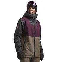 Colourwear Block - giacca da sci - uomo, Grey/Red