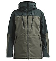 Colourwear Grid - giacca da sci - uomo, Green