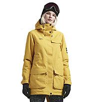 Colourwear Track Parka - giacca da sci - donna, Yellow