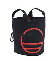 Wild Country Boulder Bag - sacca portamagnesite, Black/Orange