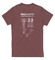 Wild Country Curbar - T-Shirt arrampicata - uomo, Brown