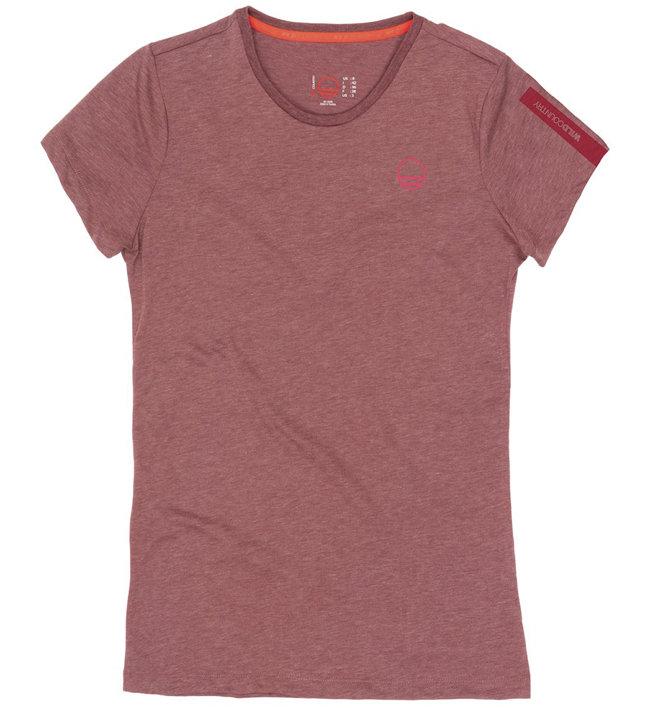 Wild Country Curbar - T-Shirt arrampicata - donna, Red