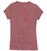 Wild Country Curbar - T-Shirt Klettern - Damen, Red