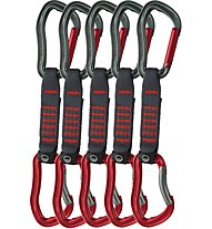 Wild Country Electron Sport - Express Set, Dark Grey/Red