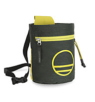 Wild Country Flow Chalk Bag - portamagnesite, Dark Grey/Yellow