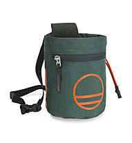Wild Country Flow Chalk Bag - portamagnesite, Green/Orange