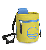Wild Country Flow Chalk Bag - portamagnesite, Yellow/Light Blue