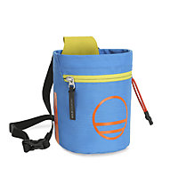 Wild Country Flow Chalk Bag - portamagnesite, Light Blue/Yellow