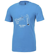 Wild Country Flow M - T-shirt arrampicata - uomo, Light Blue