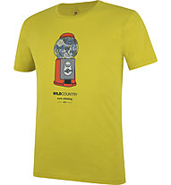 Wild Country Flow M - T-shirt arrampicata - uomo, Yellow/Orange/Grey