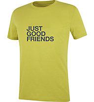 Wild Country Flow M - T-shirt arrampicata - uomo, Yellow/Dark Grey