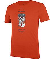 Wild Country Flow M - T-shirt arrampicata - uomo, Orange/White/Grey